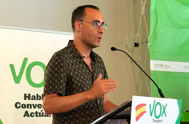 Antonio de Miguel Antón, número uno de VOX Guadalajara al Congreso de los Diputados