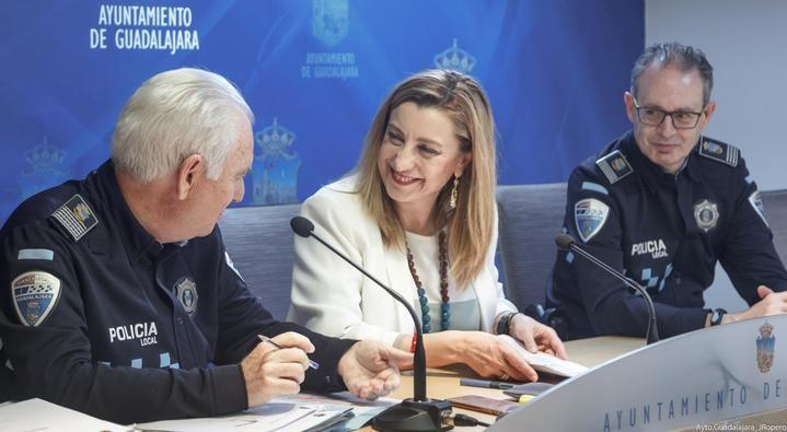 La Policía Local detalla la actividad realizada durante 2018 en Guadalajara