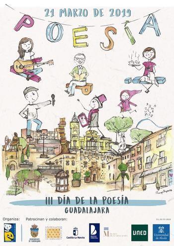 Guadalajara volverá a sacar la poesía a las calles el día 21 de marzo con 25 actividades