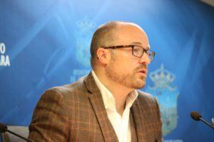 Alejandro Ruiz, portavoz de Ciudadanos en el Ayuntamiento de Guadalajara : Pan y circo