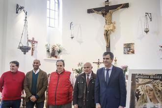 El alcalde de Guadalajara, Antonio Román, presenta el programa de Semana Santa 2019