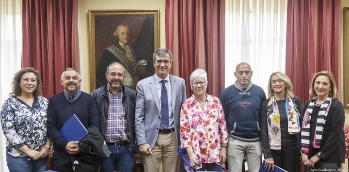 Firmadas en Guadalajara las subvenciones para sus proyectos de Cooperación,Educación y Ayudas de Emergencia