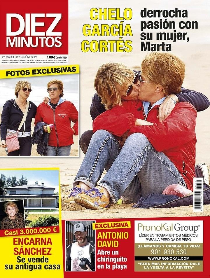 DIEZ MINUTOS Chelo García Cortés, todo pasión con su mujer, Marta