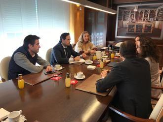 Paco Núñez se reúne con el Colegio Oficial de Farmacéuticos de Guadalajara