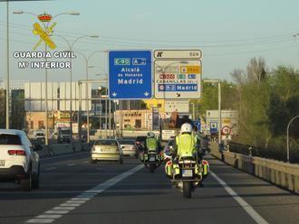 La Guardia Civil detiene en Guadalajara a una persona implicada en un accidente de circulación que se dio a la fuga