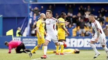 Bendito Alba, el equipo albacetista supo sufrir y se llevó una victoria vital