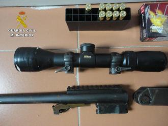 La Guardia Civil de Guadalajara detiene a dos cazadores furtivos que intentaron atropellar a dos guardas de un coto de caza en Estriégana