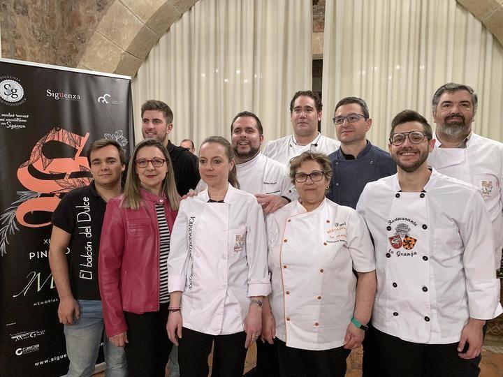 Rubén Urbano, cocinero jefe del Parador de Turismo, Chef Medieval 2019 de Sigüenza