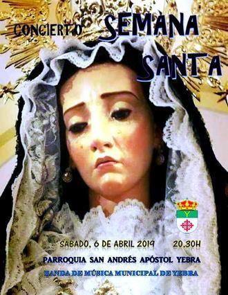 El concierto de marchas de procesión será el preludio de la Semana Santa yebrana