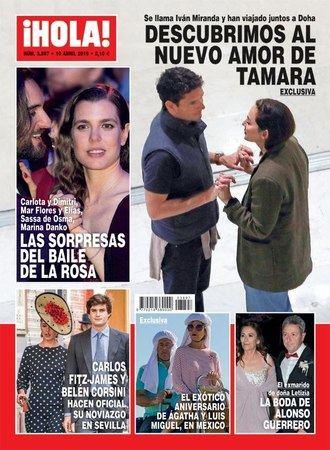 ¡HOLA! La biblia de las revistas del corazón descubre al nuevo amor de Tamara Falcó