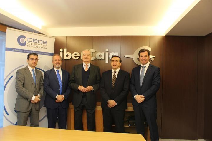 IberCaja y Ceoe-Cepyme Guadalajara renuevan su colaboración