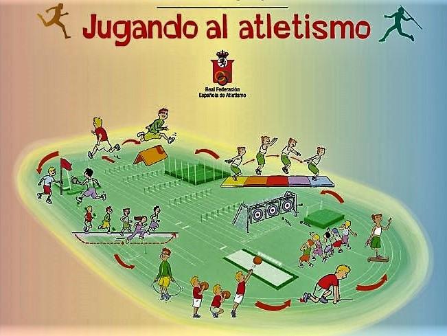 """El polideportivo de Valdeluz acoge este domingo la Final Regional del programa """"Jugando al atletismo"""""""