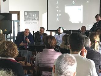 Latre participa en Brihuega en la inauguración de la jornada técnica sobre despoblación del Colegio de Arquitectos