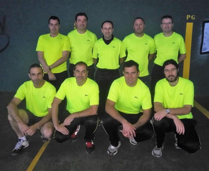 Continúan las ligas provinciales de frontenis