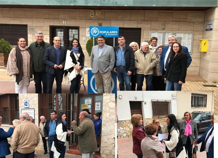 El PP de Yebes recoge las propuestas de los vecinos para poner en marcha un proyecto de futuro contando con todos