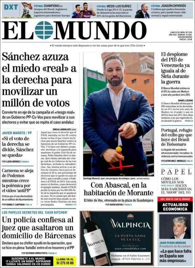 """Santiago Abascal de VOX en los toros en Guadalajara, vitoreado : """"Presidente, presidente"""""""