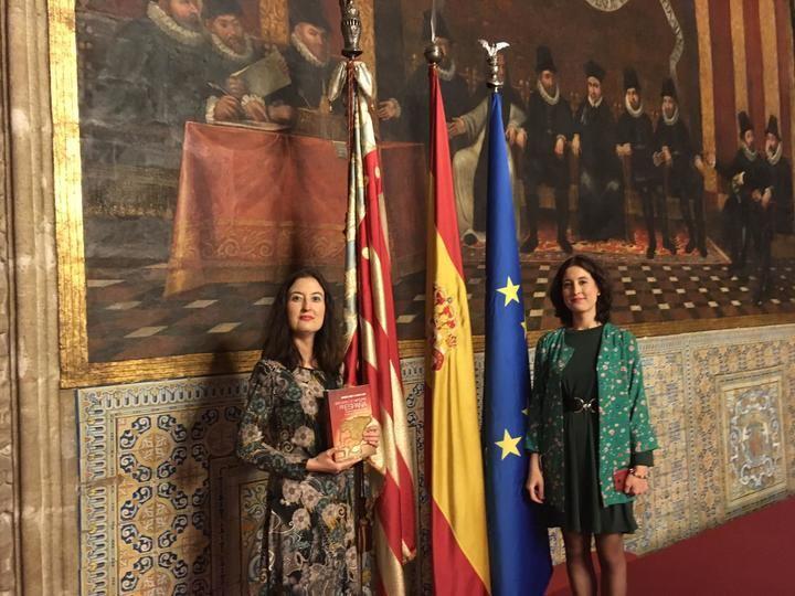 Las profesoras alcarreñas Laura Lara y María Lara en el V Congreso Universitario de Historia Comarcal de Valencia