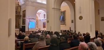 La concatedral de Santa María de Guadalajara se une al Rosario por la Paz