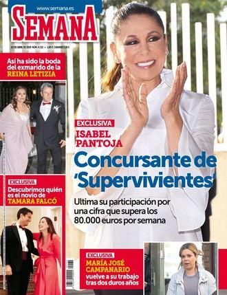SEMANA Isabel Pantoja ¿concursante de Supervivientes 2019 por más de 80.000 euros por una semana?