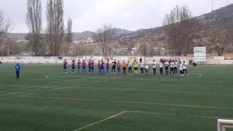 El CD Sigüenza pierde una ventaja de tres goles y acaba empatando a tres con el Azuqueca B