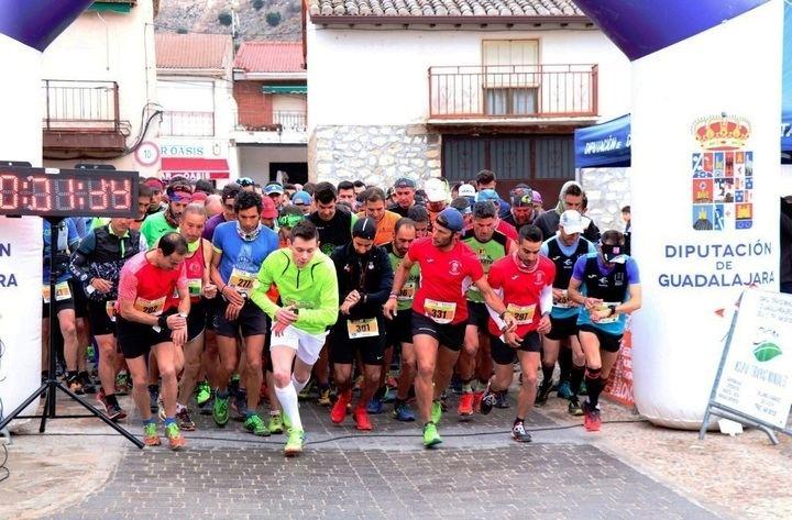 Sergio Tejero venció en el multitudinario IV Lupiana Trail