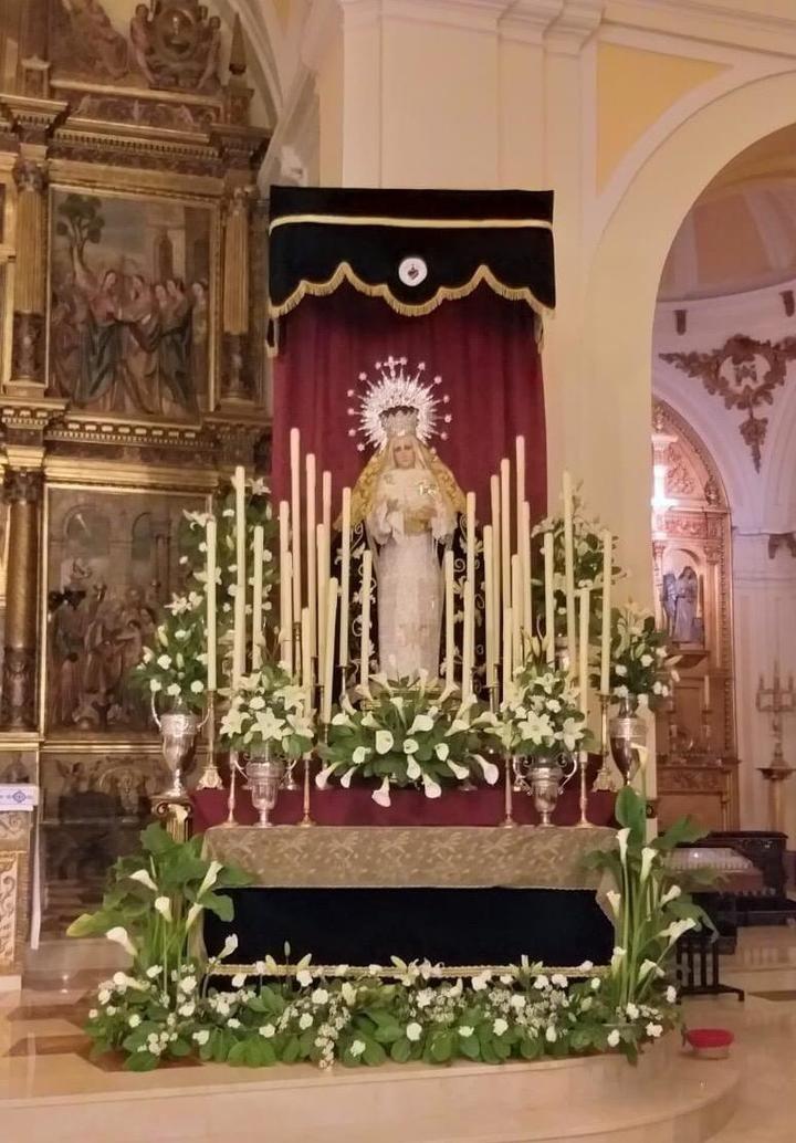 Triduo y fiesta en honor a Nuestra Sra. de los Dolores en la Concatedral de Santa María de Guadalajara