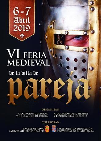 Pareja viajará en el tiempo el primer fin de semana de abril con su Feria Medieval