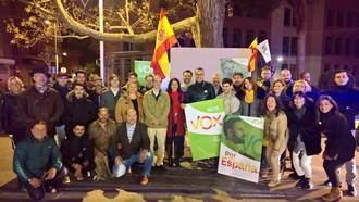 VOX Guadalajara ha comenzado la campaña electoral en la plaza del Jardinillo