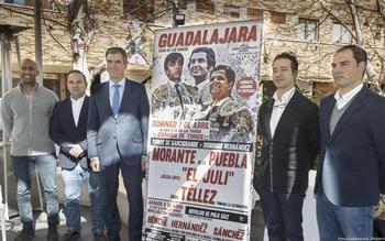 """Un histórico cartel reunirá en Guadalajara a dos grandes figuras del toreo: Morante de la Puebla y """"El Juli"""""""