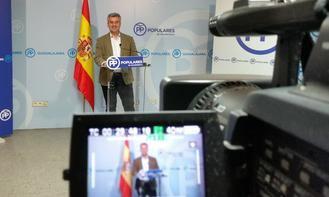 """Esteban advierte que el PP """"es la única alternativa a un PSOE que destruye empleo y que quiere romper España"""""""
