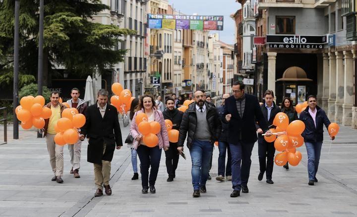 """María Ángeles Rosado: """"Las encuestas nos dan el escaño en Guadalajara, lo que es un síntoma evidente de que el proyecto de Cs es el que más crece y convence en las urnas"""""""
