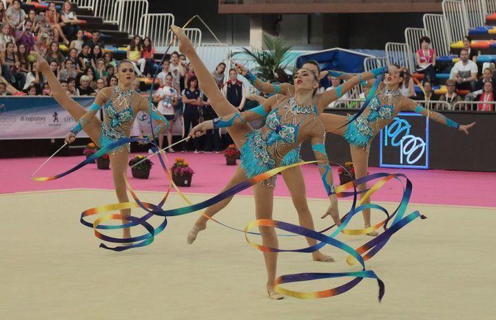 El 1 de mayo, Trofeo de Gimnasia Rítmica Base en el Multiusos de Guadalajara y triangular de las selecciones junior de España, Rusia y Azerbaiyán