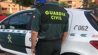 La Guardia Civil rescata a un ejemplar hembra de corzo que se había refugiado en un chalet en Guadalajara