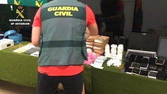 Veinte detenidos en Guadalajara y otras provincias en una operación contra una red que vendía una peligrosa droga (