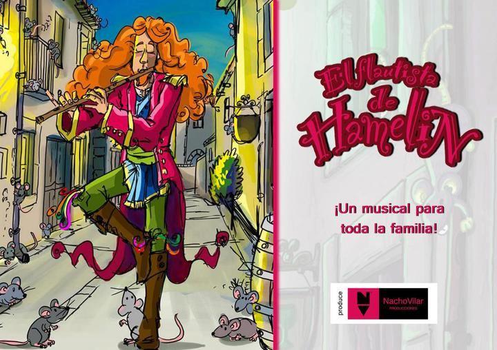 El musical El Flautista de Hamelín llega el sábado 27 de abril al Buero Vallejo de Guadalajara