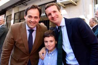 Pablo Casado se presenta en Ciudad Real como garantía para mantener las pensiones y el candidato de