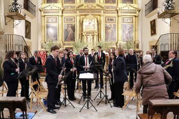 El concierto de marchas procesionales da comienzo a la Semana Santa de Pastrana