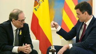 El 45% de los españoles considera que Pedro Sánchez ha cedido ante el independentismo