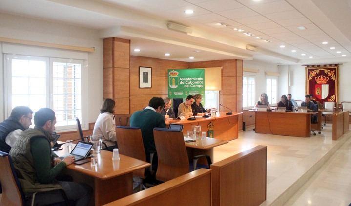 El Pleno del ayuntamiento de Cabanillas aprueba emprender acciones legales contra Diputación de Guadalajara por negarse a sufragar la sede electrónica