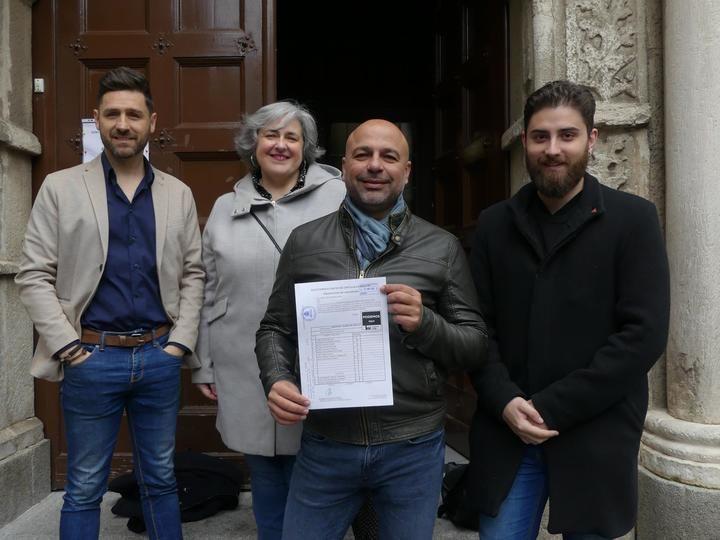 Unidas Podemos-IU-Equo CLM registra en Toledo su candidatura para las elecciones del 26 de mayo