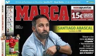 Santiago Abascal en el Marca :