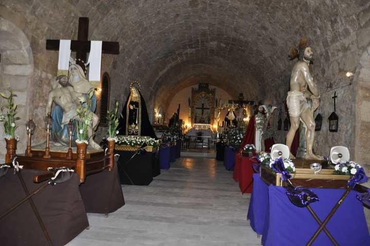 Máxima expresión de religiosidad y emoción en la Semana Santa de Brihuega