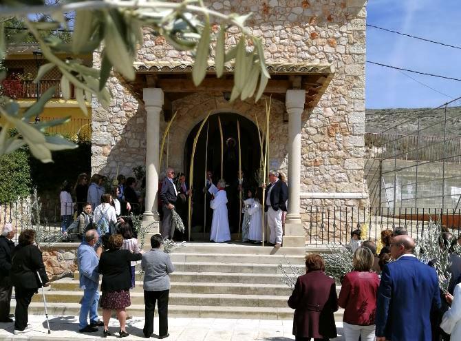 La celebración del Domingo de Ramos marca el inicio de la Semana Santa en Yebra