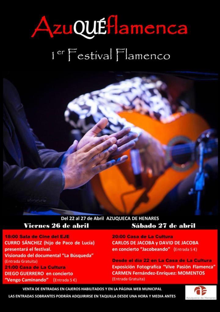 Comienza el primer festival de flamenco 'AzuQUÉflamenca'