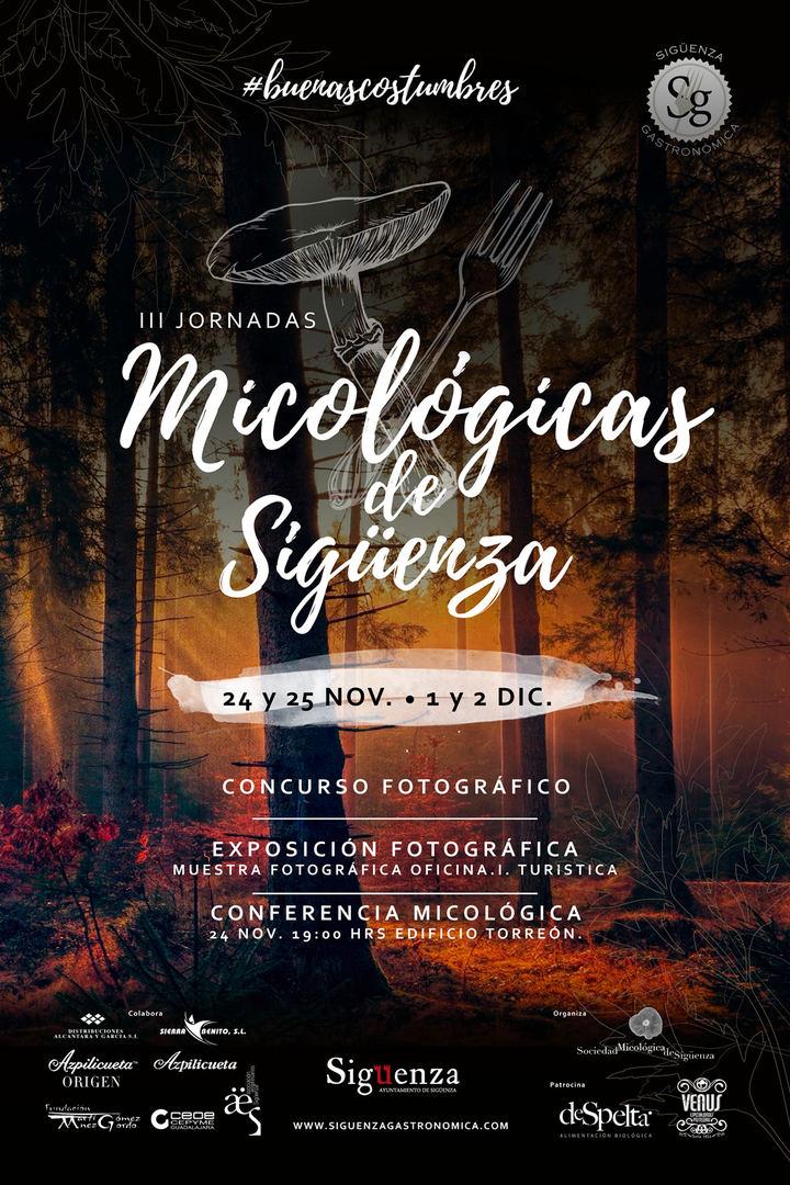 A finales de noviembre y primeros de diciembre, III Jornadas Micológicas de Sigüenza