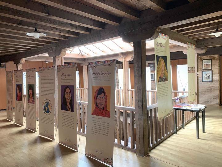 La exposición, 'Defensoras', en el Centro de la Mujer de Sigüenza hasta el próximo 29 de abril