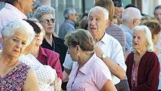 La pensión media en Castilla-La Mancha sigue por debajo de la media nacional