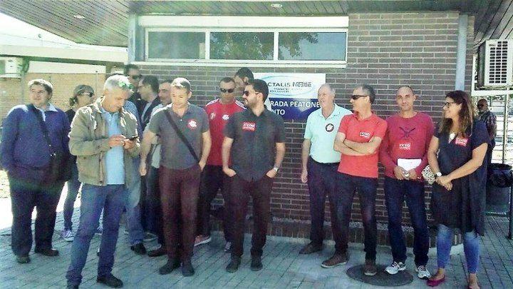 La Inspección de Trabajo obliga a Lactalis-Netslé hacer indefinidos a 14 trabajadores de Marchamalo