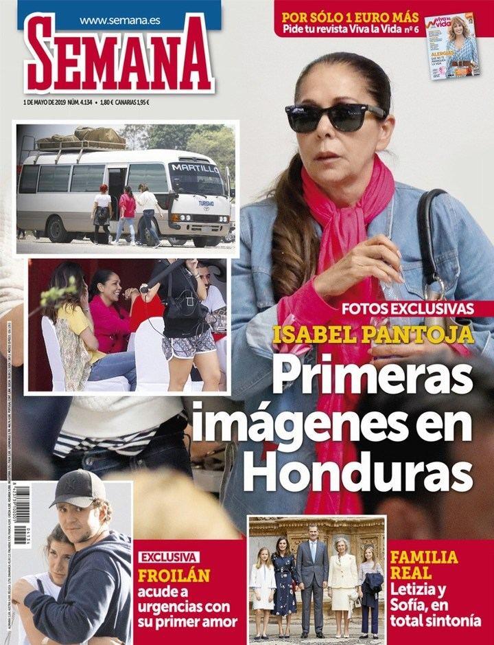 """SEMANA Isabel Pantoja en """"Supervivientes"""" : """"Espero no defraudaros, intentaré hacerlo lo mejor posible"""""""