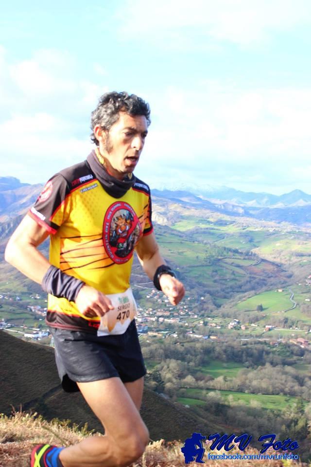 Sergio Tejero, vencedor en la Nafarroa Xtreme